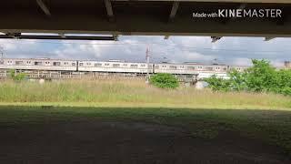 東急東横線 鶴見川 撮影