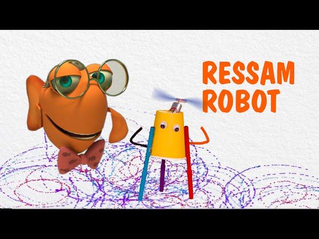 Profesör Balık ile Deneyler: Ressam Robot