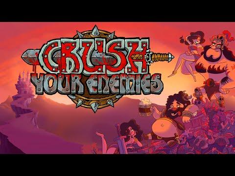 Crush Your Enemies | (2016) [gameplay] |