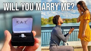 I ASKED HER TO MARRY ME!