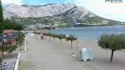 Live webcam Omiš - Time Lapse