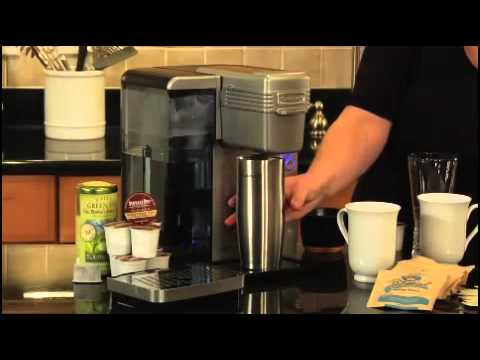 Cuisinart Single Serve Brewing System SS700 YouTube