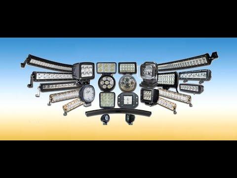 МАСТЕРОВЫЕ Ультрафиолетовые фонари и мощные LED фары для джипов и квадроциклов.