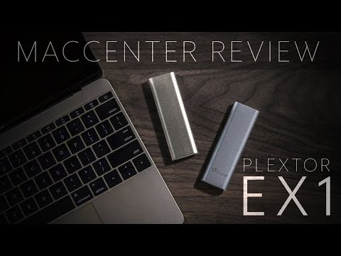 SSD Plextor EX1 - Mac Center Review