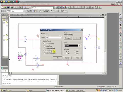 how to run pspice simulation in orcad