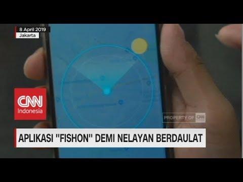 Fishon Aplikasi Kekinian Untuk Nelayan Berdaulat Youtube