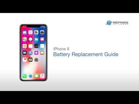 IPhone X Battery Replacement Guide - RepairsUniverse