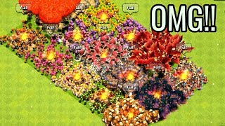 Unlimited All Troops Attack On COC New Private Server 2019