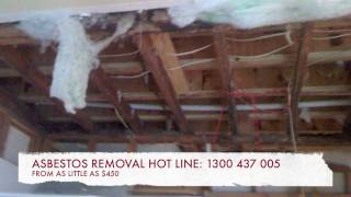 ASBESTOS BATHROOM RENOVATIONS / Bathroom demo