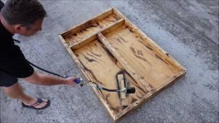 Making a Texas Gun Cabinet