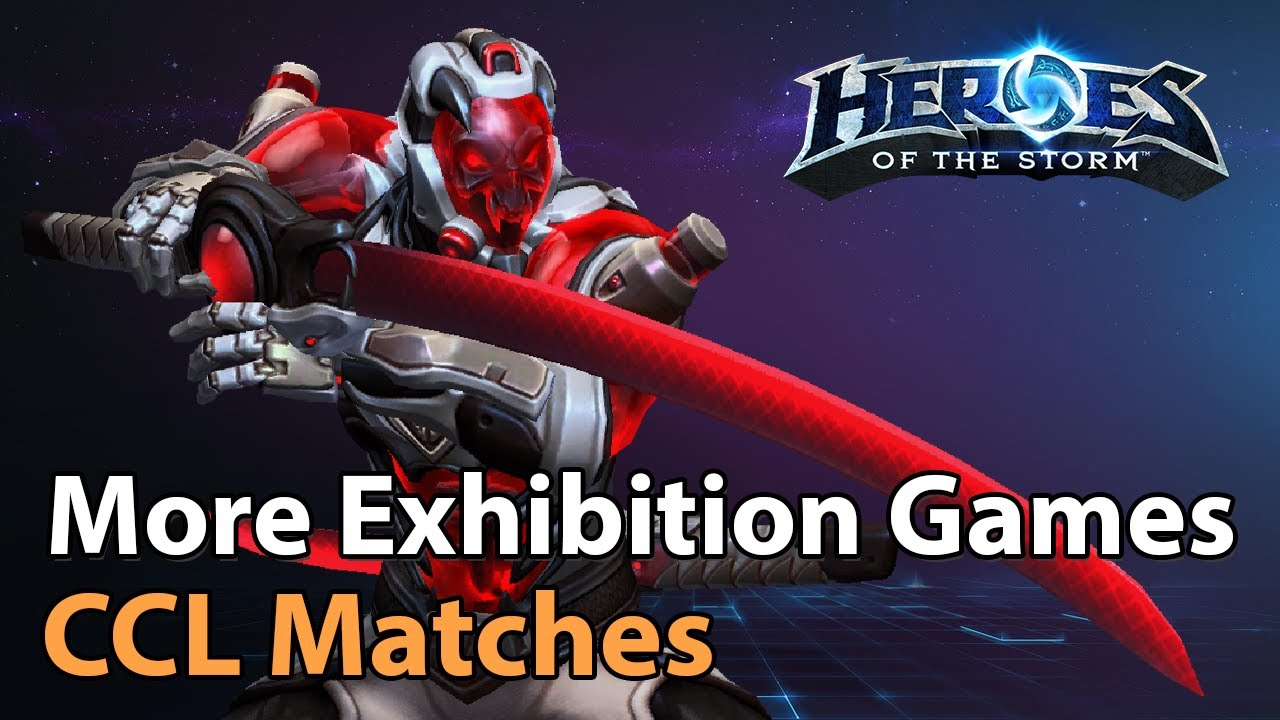 ► Game of Throws? - CCL Exhibition Matches - Heroes of the Storm Esports
