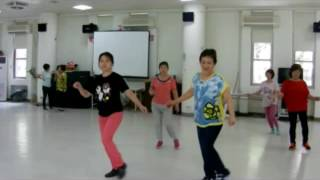 ct shuffle linedance by fred whitehouse and derren balley