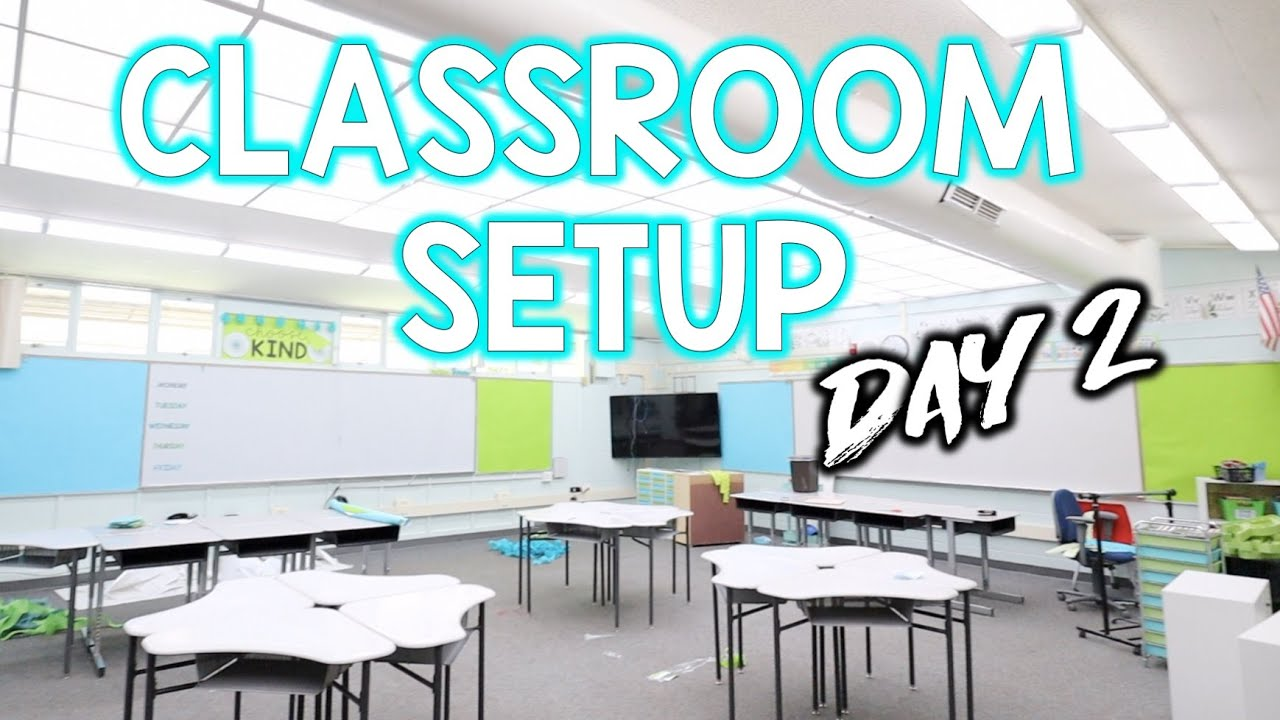 CLASSROOM SETUP! - Moving from 6th to 2nd!
