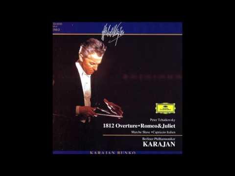 Tchaikovsky - Capriccio Italien Op.45  Karajan Filarmônica De Berlim