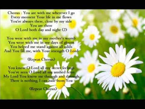 You Are With Me Wherever I Go Worship Hymn Youtube