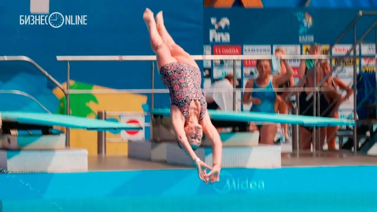 Мастер-класс по прыжкам в воду от тех, кому за 70