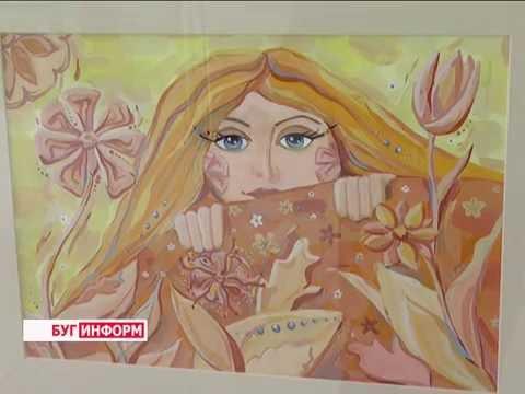 2016-08-23 г. Брест. Юная художница А. Телипко. Новости на Буг-ТВ.