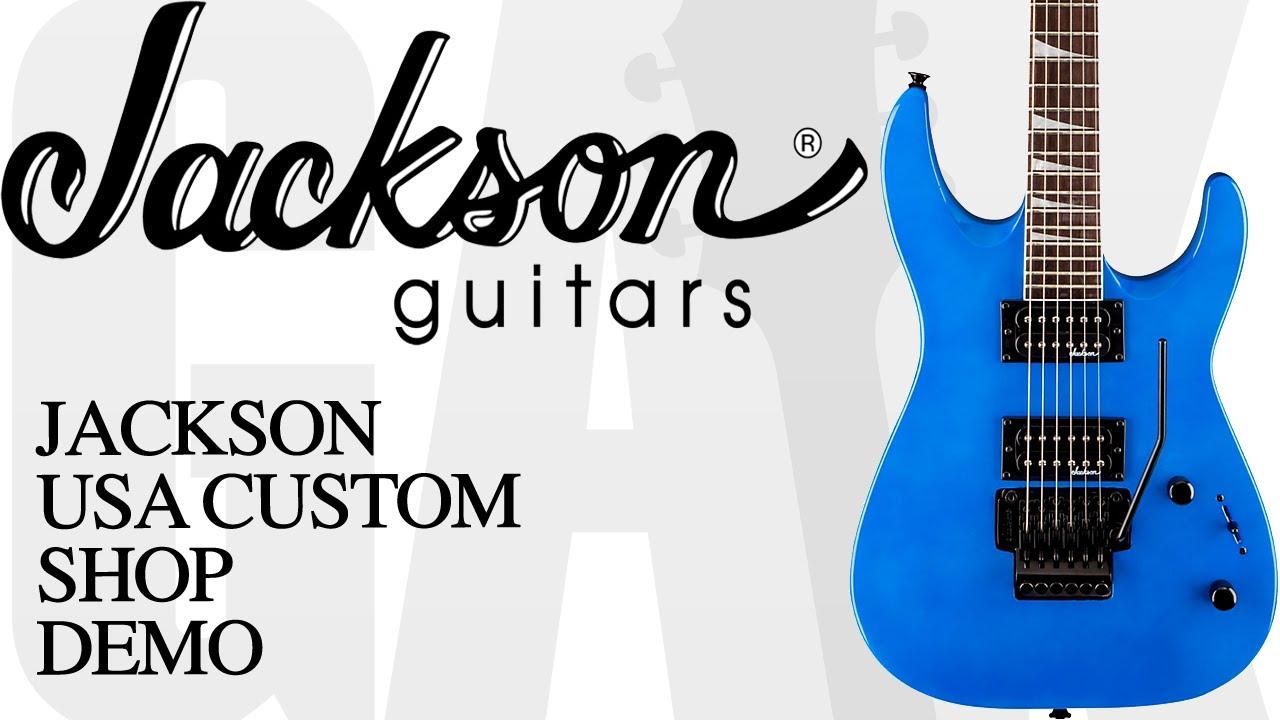 Jackson Usa Custom Shop Special Edition Soloist Sl2q