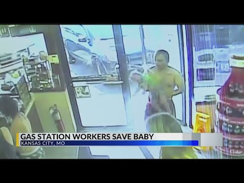 Gas Station Worker Saves Baby's Life