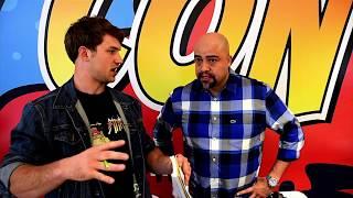 Jack Guzman Interview At Valley con - Power Rangers Wild Force