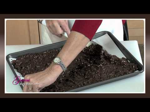 Dark Chocolate Roasted Almond Cranberry Bark