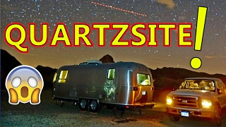 🌵 FREE RV CAMPING in QUARTZSITE, ARIZONA 🌵(PLUS, the HUGE Quartzsite RV Show!)