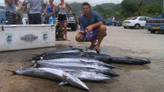 Deep Sea Fishing, The Cook Islands, Travel Video Guide