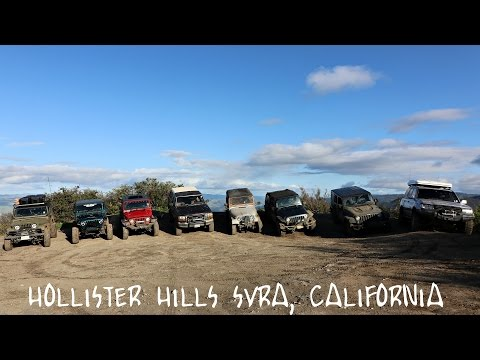 EPIC FIRST GROUP WHEELING TRIP! | Hollister Hills SVRA, Ca