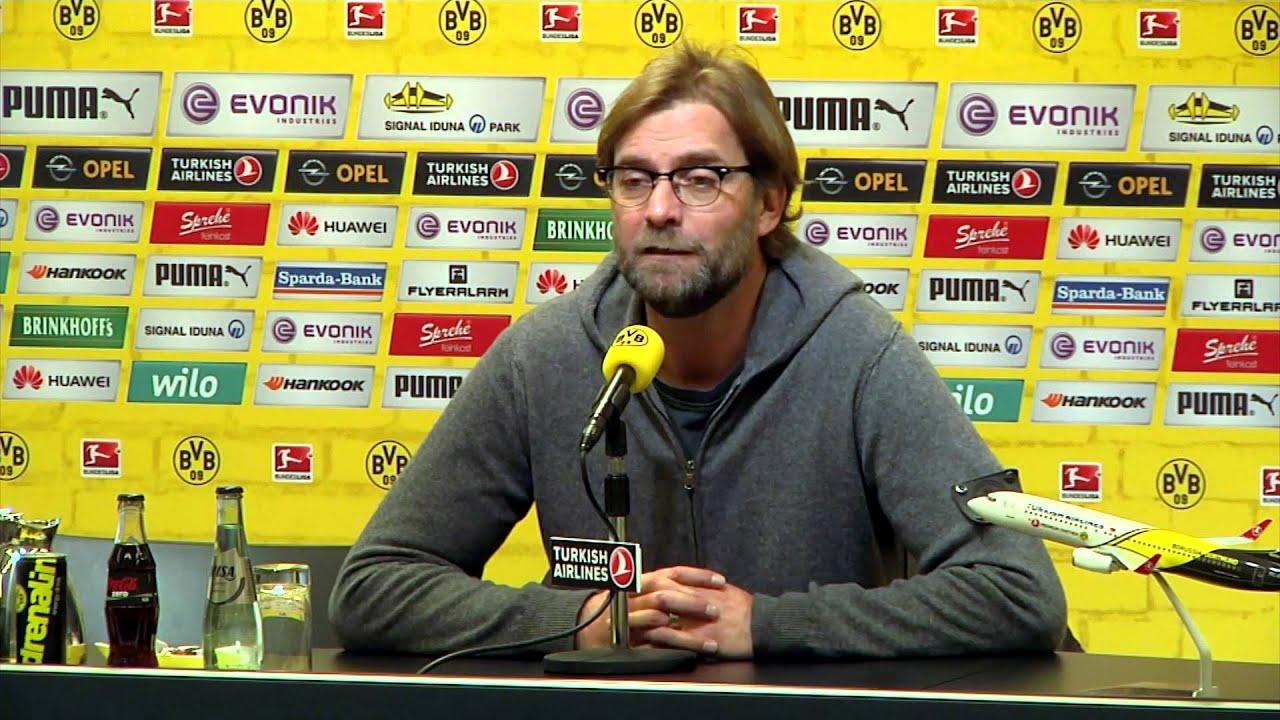 """Jürgen Klopp: """"Freitag ist High Noon""""   Borussia Dortmund - TSG 1899 Hoffenheim"""