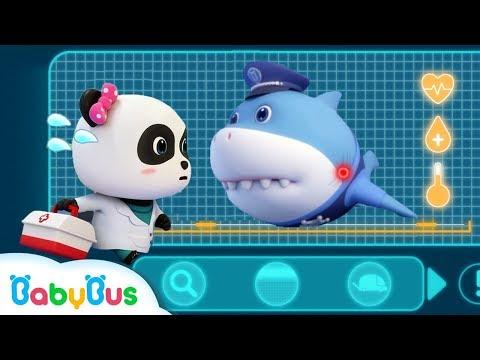 Шеф Акула | Суперспасатели | Мультик панда | Kids cartoon | BabyBus