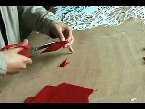Papercraft Paper Cutting Butterfly Project