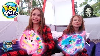 Pikmi Pops Jelly Dreams Slumber Party In Real Life 24 Hour Camping Game Master Top Secret Spy Toy