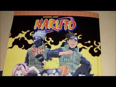 NOVIDADE - Novo Álbum de Figurinhas do Naruto (Panini 2018)