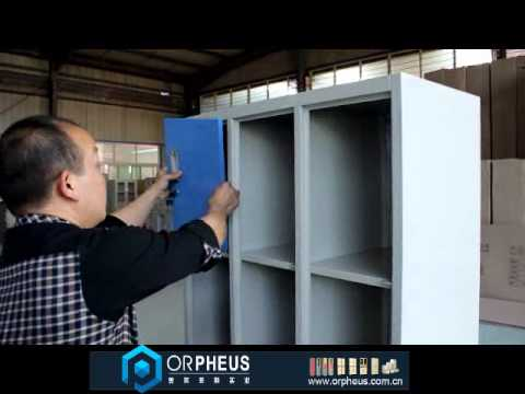 Metal 12 Door Locker Install Video-Luoyang Orpheus Industrial Limited Company Supply