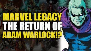 Return of The Infinity Stones (GoTG Marvel Legacy Vol 1: The Return Of Adam Warlock)
