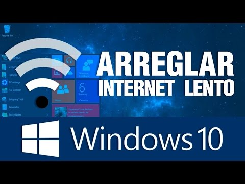 ¿Internet lento con windows 10? Te decimos como solucionarlo.