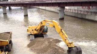 Dredging Sand Zumbro River