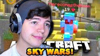 Minecraft SOLO SKY WARS #11
