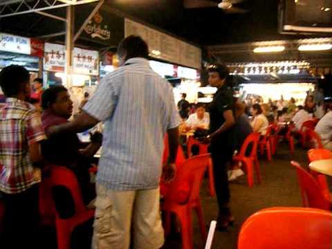 Hawker food market,Batu Ferringhi,Penang