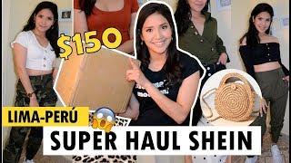 SUPER HAUL SHEIN! $ 150 EN ROPA CHINA! + código de dscto !!LIMA- PERU 👗