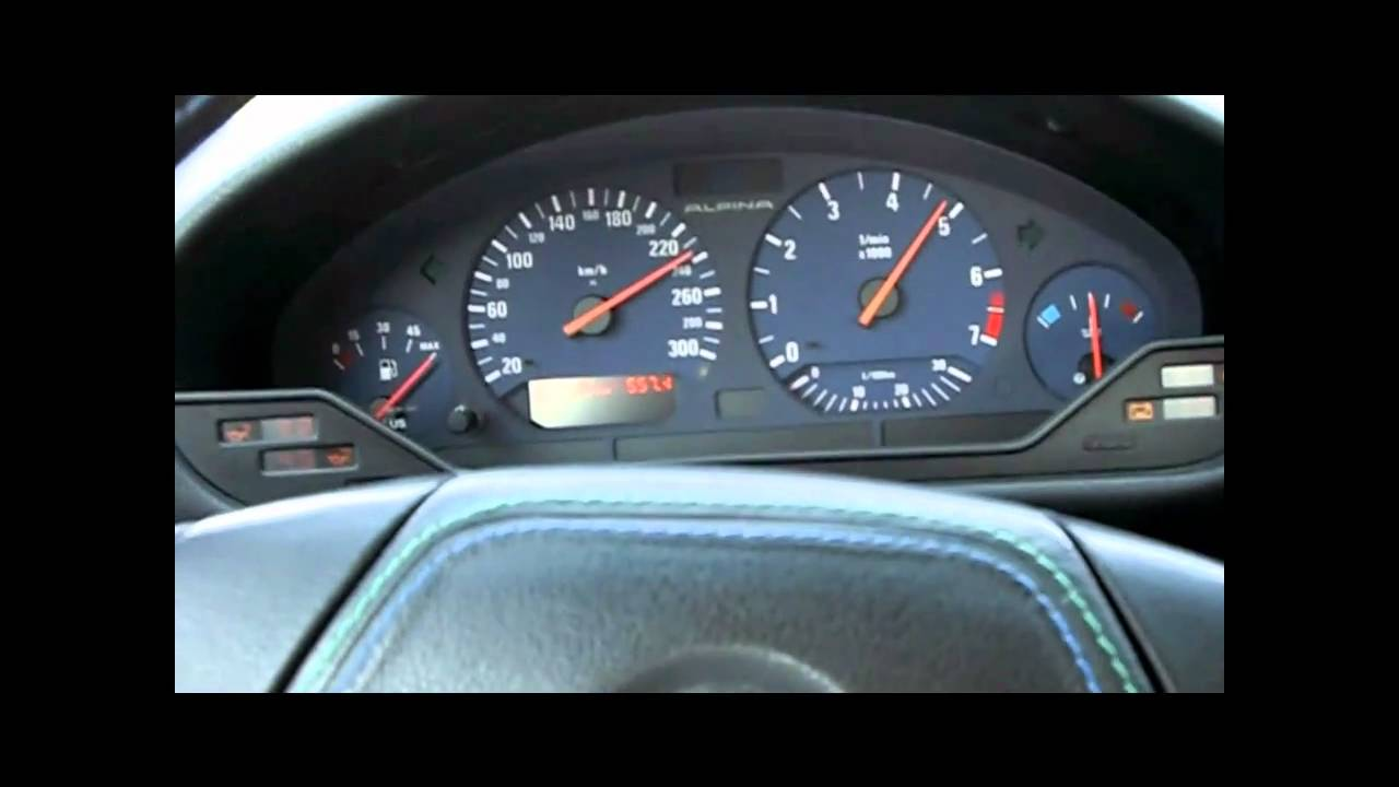 Alpina B8 4 6 In Sixth With 2 93 Differential Gear Youtube