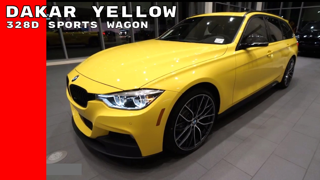 Dakar Yellow 2017 Bmw 328d Xdrive Sports Wagon