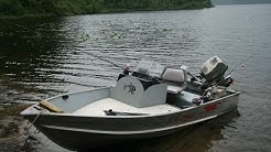Lund aluminum boat - boat build and upgraded for fishing with console