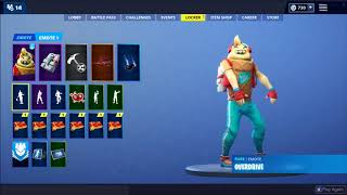 Fortnite - OVERDRIVE Emote Extended Beat 1 HOUR
