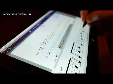 PreSonus Notion6 with Microsoft Surface Pro