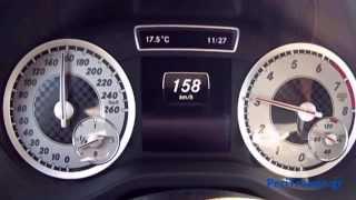 mercedes benz a180 122ps blueefficiency 2013 acceleration 0 190km h and more