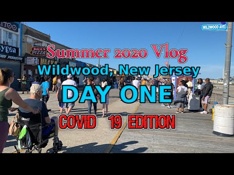 Summer 2020 | Day One Vacation At Wildwood, New Jersey Vlog (COVID-19 EDITION) | Tim Peou