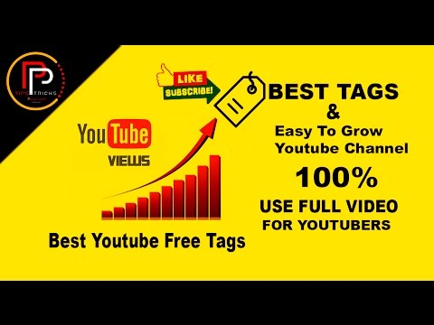 how to add channel tags on youtube