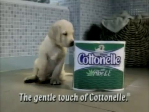 Cottonelle Toilet Paper (Monster) Commercial - YouTube