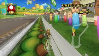[MKW TAS] New Ultra Shortcut on Luigi Circuit